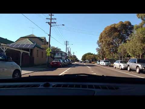 Sydney driving Bankstown to Lakemba 19/3/16