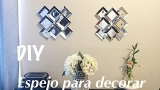 DIY Espejo para decorar / Idea para decorar / Dollar Tree / Decor idea
