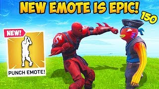 *NEW* BOXING EMOTE IS EPIC! - Fortnite Funny Fails and WTF Moments! #492