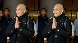 S0NALI Bendre's Unrecognizable Sh0cking L00K after Undergoing Therapy for her Condition