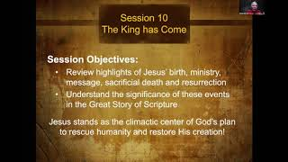 The Story of Scripture Session 10