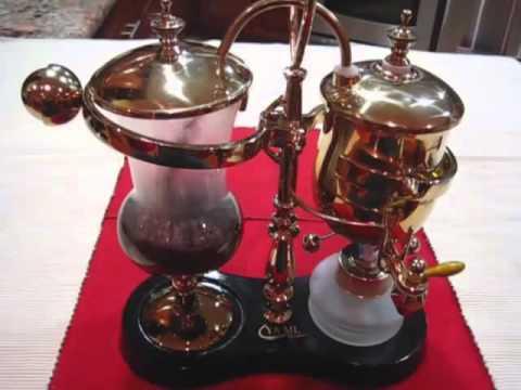 royal balancing syphon coffee maker youtube. Black Bedroom Furniture Sets. Home Design Ideas