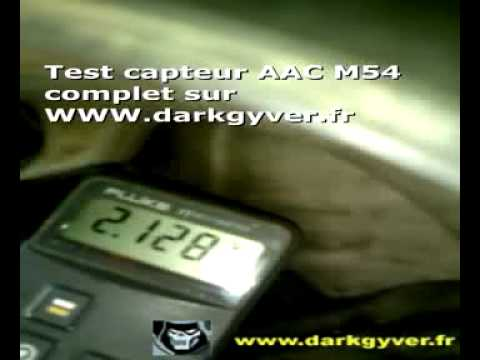 test capteur aac m54 bmw youtube. Black Bedroom Furniture Sets. Home Design Ideas