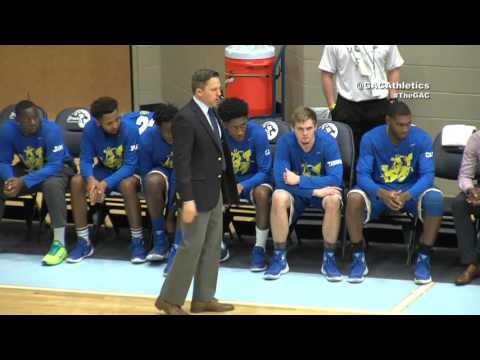 2016 GAC Men's Basketball Semifinals - Harding vs SAU