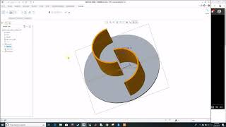 3D model Savonius turbine   Creo Parametric 3.0   HD 1080p