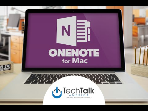 OneNote for Mac 2016 Tutorial