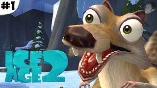 нАЧАЛО (Ice Age 2: The Meltdown Прохождение #1)