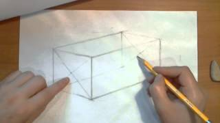 Лежащий цилиндр. Видеоурок по рисованию Анны Кошкиной.