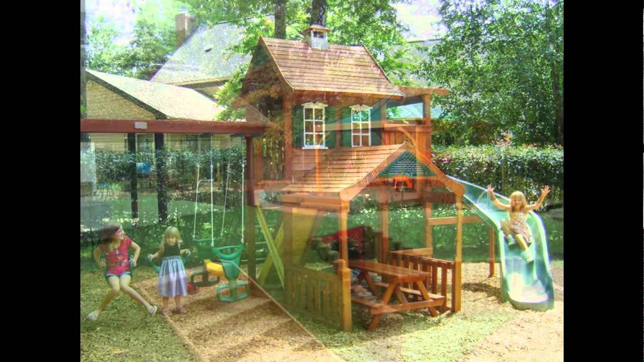 Backyard Playground Ideas - YouTube