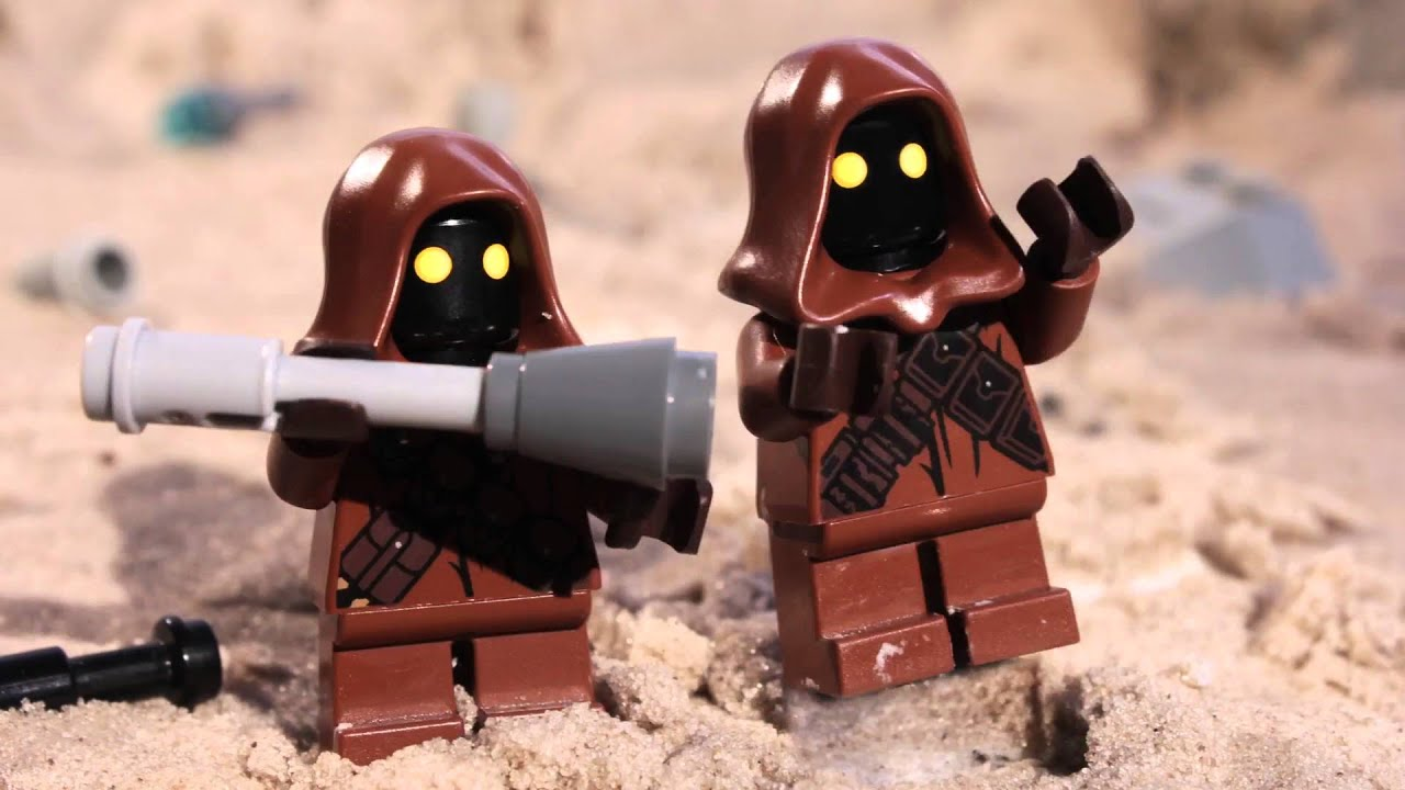 Jawa Surprise Lego Star Wars Mini Movie Youtube
