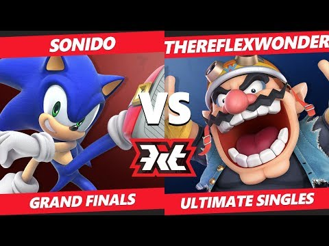 Smash Ultimate Tournament Grand Finals - Sonido (Sonic) Vs T