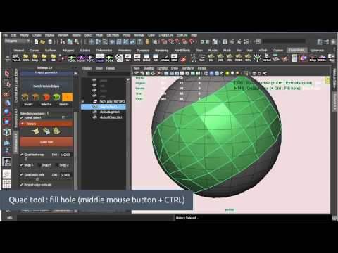 froRetopo 3.4 - Retopology script for Maya