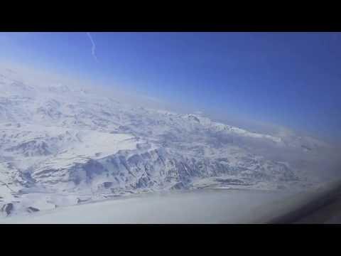 Landing in Ağrı, Turkey | Boeing 737 | Cockpit View