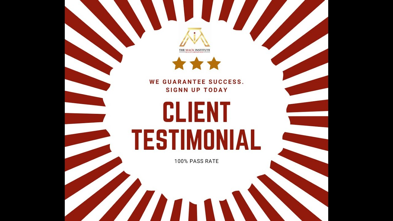 We Love When Our Clients Pass Their Exam!