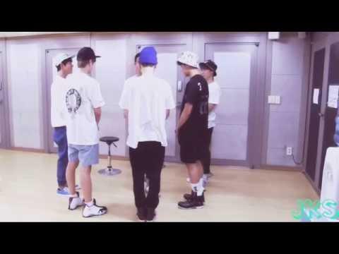 BTS Blanket Kick Dance Practice [mirrored]