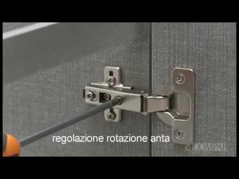 Compab mobili arredo bagno regolazione ante mobili bagno guide e video fai da te youtube - Ante mobili fai da te ...
