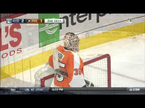 Rangers @ Flyers Highlights 01/16/16