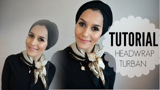 FIVE TURBAN TUTORIALS!