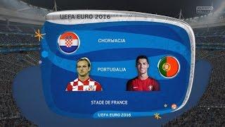 Chorwacja vs Portugalia 1/8 EURO 2016 MOD  FIFA 16