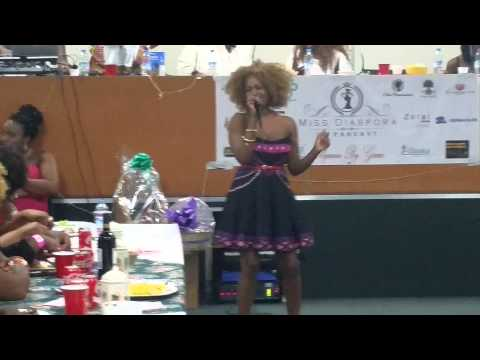 Nyaradzo performing @ Miss Diaspora UK 2015, Birmingham UK.
