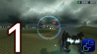 "Armored Core: Verdict Day Walkthrough - Gameplay Part 1 - Tutorial and Mission 01: ""Dirty Worker"""