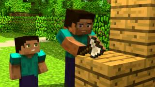 Repeat youtube video El legado de Herobrine un gran video animacion de minecraft.