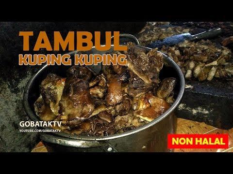 Kuping Kuping Tambul Khas Siantar - Lapo Tuak (Non Halal) - Indonesian street food