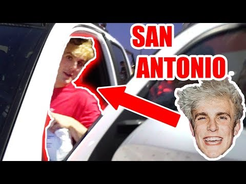 JAKE PAUL COMES TO SAN ANTONIO!! **HURRICANE HARVEY HELP**
