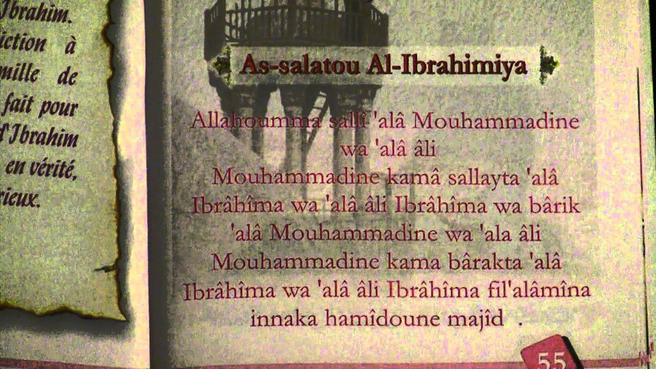 Super apprendre la salate IBRAHIMIYA: prière abrahamique - YouTube YG28