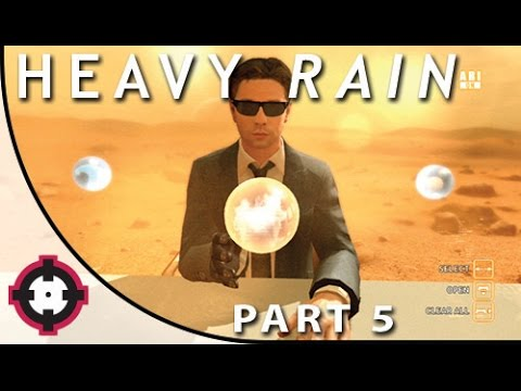 Heavy Rain Blind Let's Play Gameplay PS4 // Part 5 - Hunting the Origami Killer!