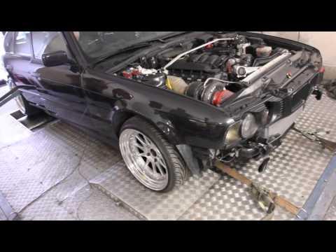 BMW E34 540i Turbo - Как поздравить с Днем Рождения