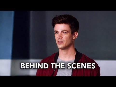 """The Flash 4x07 Behind the Scenes """"Therefore I Am"""" (HD) Season 4 Episode 7 Behind the Scenes"""
