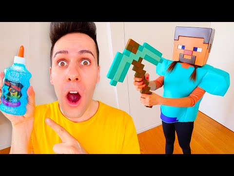 ENCUENTRA LOS INGREDIENTES DEL SLIME ESCONDIDOS EN MINECRAFT