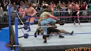 Team USA vs Team Mustafa - WWF Survivor Series 1991 (WWE 2K16 …