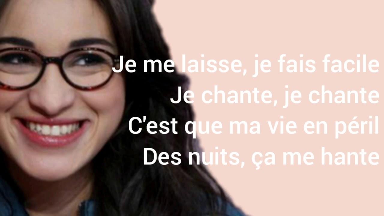 Download -Camélia Jordana- Facile(lyrics)