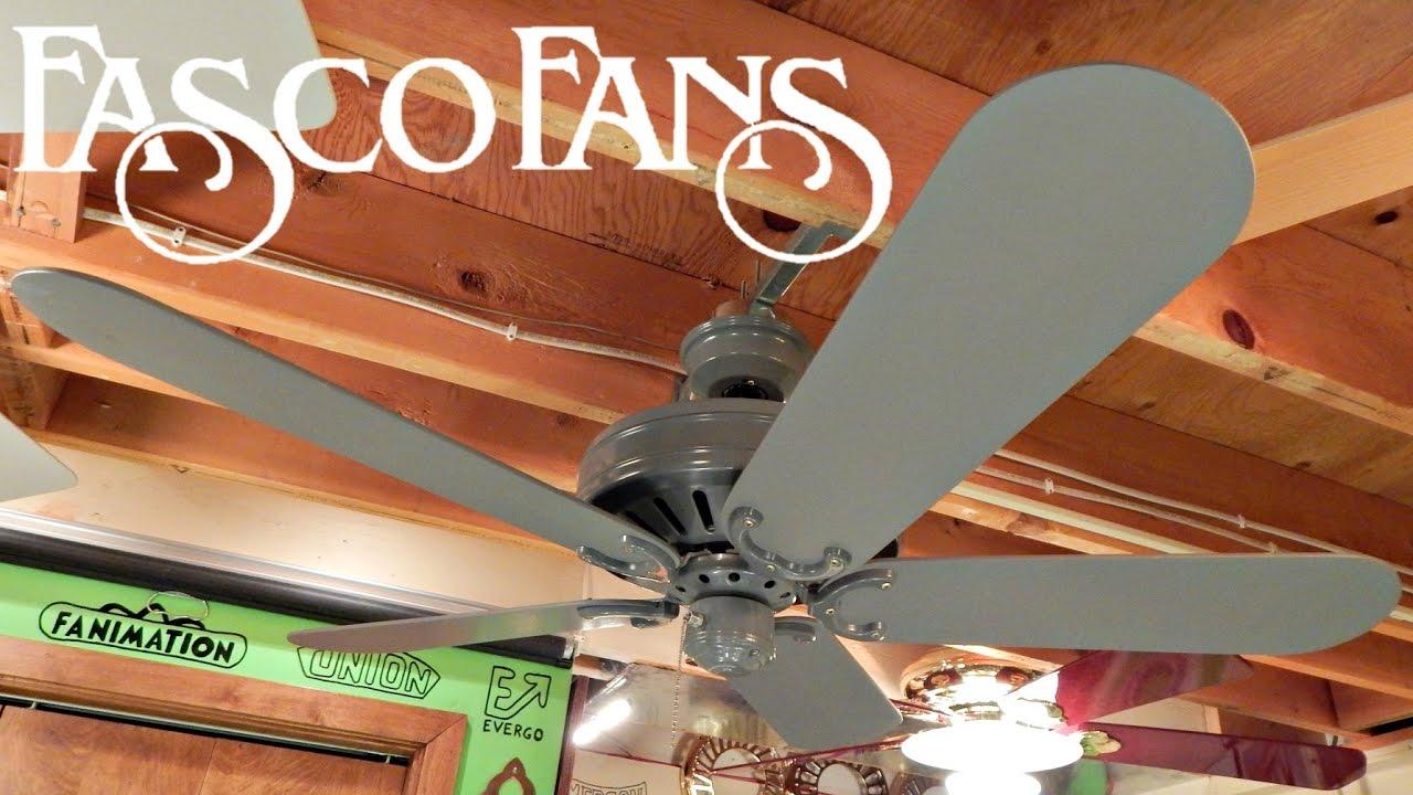 FASCO Decorator Ceiling Fan | New Flywheel Update