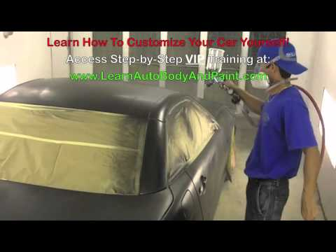 RE How To Spray Paint a Car – How To Paint a Car – Painting a Car