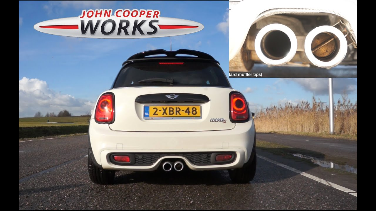 mini cooper s john cooper works tuning kit jcw youtube. Black Bedroom Furniture Sets. Home Design Ideas