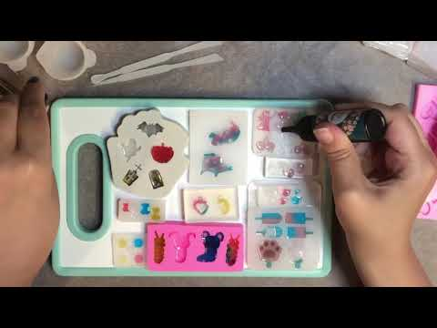 Watch me resin | mini charms, embellishments, inclusions, shaker charms | uv resin