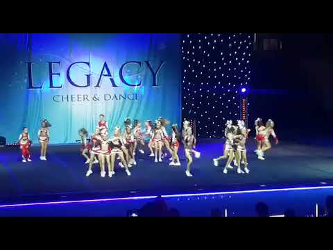 JC Dance and Cheer Academy- Youth Cheer Level 1 2017 1st place
