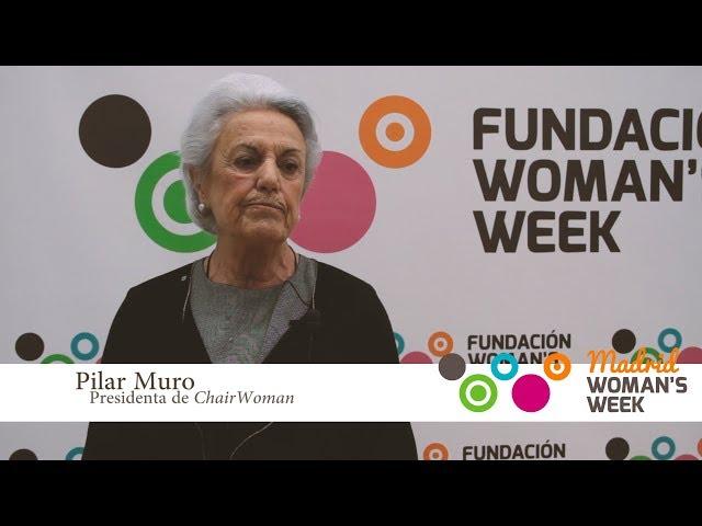 Pilar Muro recomienda la asistencia a Madrid Woman\'s Week 2018