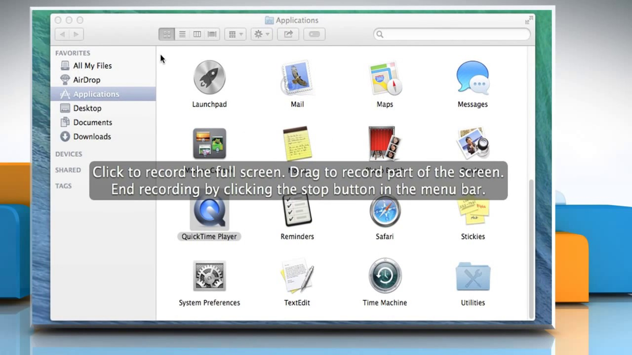 How to record your computers screen in quicktime player 10x on how to record your computers screen in quicktime player 10x on a mac os x ccuart Choice Image