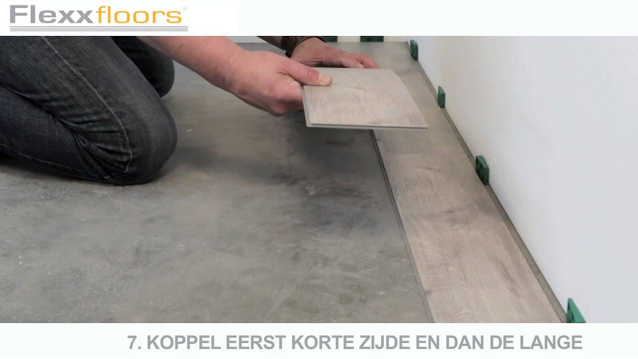 Pvc Tegels Gamma : Leginstructie flexxfloors click system nl youtube