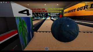 having a roblox bowling party with my friends and with cooner36!