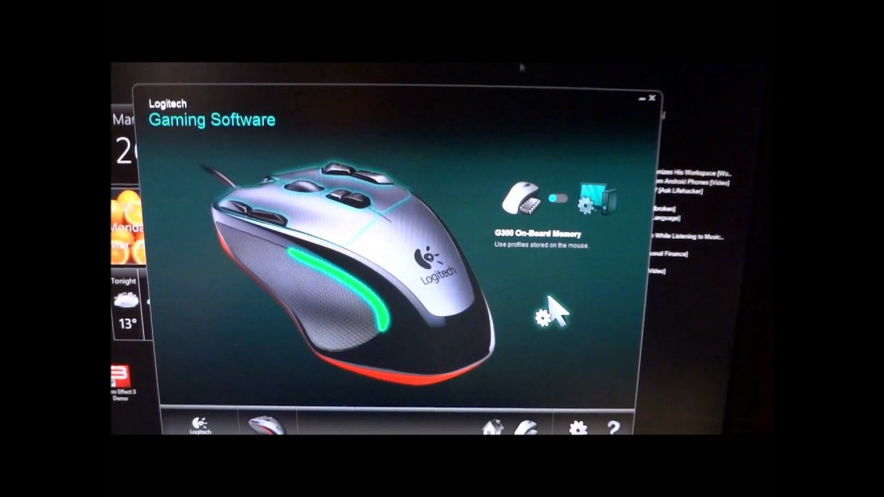 Logitech G300 Gaming Mouse Video Review Hd Youtube