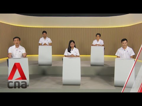 GE2020: PAP Candidates For Sembawang GRC Speak In Constituency Political Broadcast, Jul 7