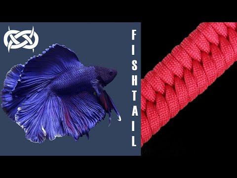 Beginner Paracord: (Thick) Fishtail / Switchback Paracord Bracelet