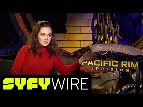 This Is The Nickname Pacific Rim's John Boyega Gave Cailee Spaeny | SYFY WIRE