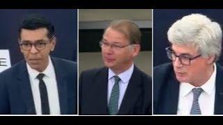 3 eurodéputés sans langue de bois face à Macron au parlement européen !