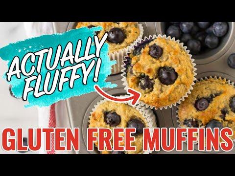 Gluten Free Muffins NO SUGAR! Super Moist and Delicious!